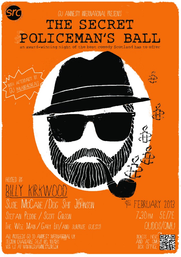Poster for the Secret Policeman's Ball 2013