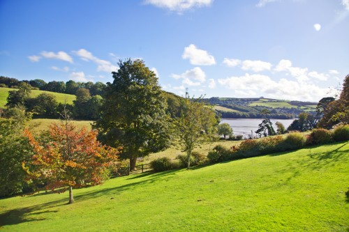 View down to River Dart