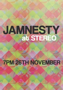 Jamnesty 2014 Flier Front