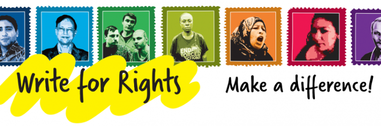 Newsletter 2014-12-01: Write For Rights and End of Term